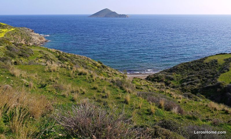 land for sale in Vourlidia, Leros